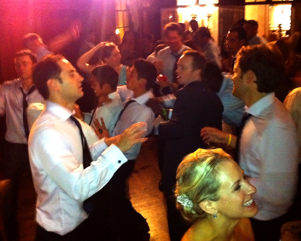 Late in the evening at Ashley and Jon's wedding