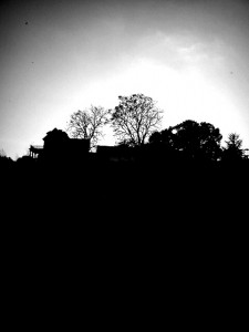 Sunset at River Farm