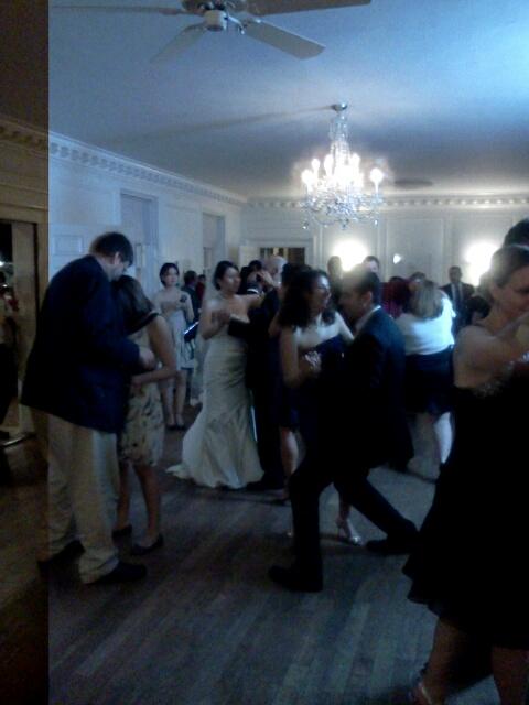 Dancing at River Farm