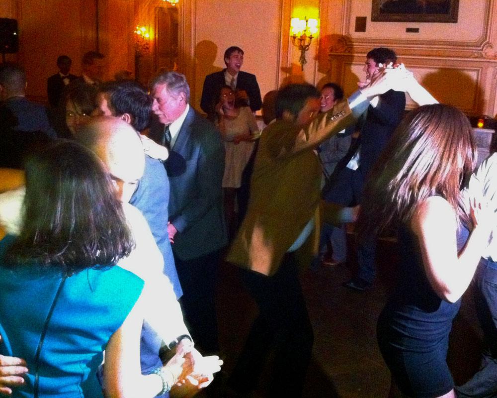 Deep Sang gets the dancefloor going for Diana and John