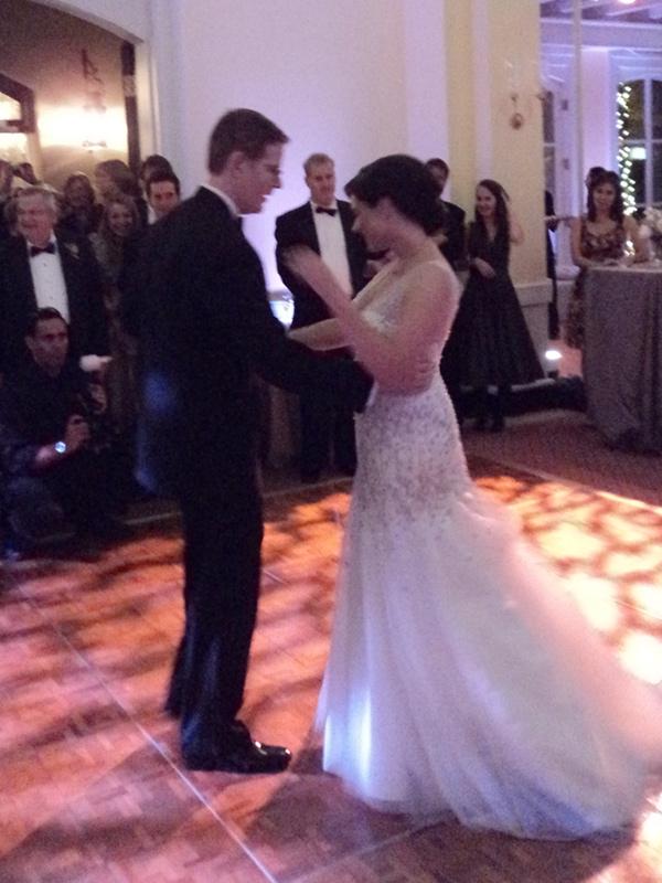 Karolina & Peter's first dance