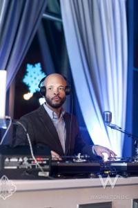 DJ Stylus in the mix (photo: Denis Largeron)