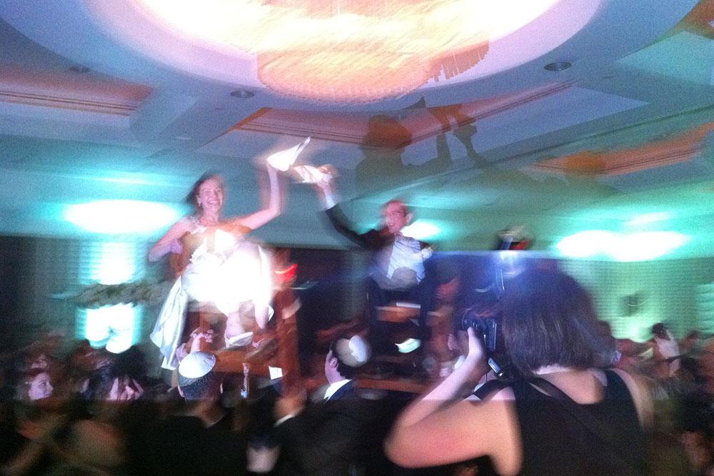 A fantastic Hora at Marc & Annie's wedding!