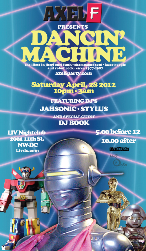 Axel F, Sat. 4/28/12 - now with ROBOT ROCK!