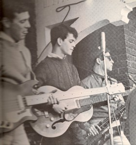 Lou Reed with his high school band The CHD
