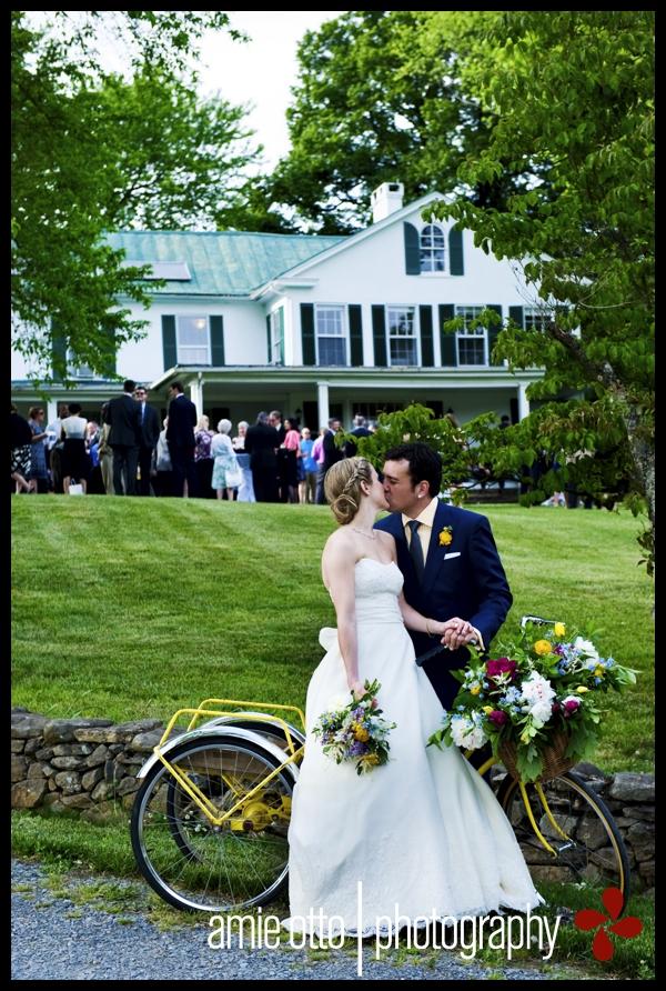 Carolyn & Devon's Briar Patch Bed & Breakfast Wedding