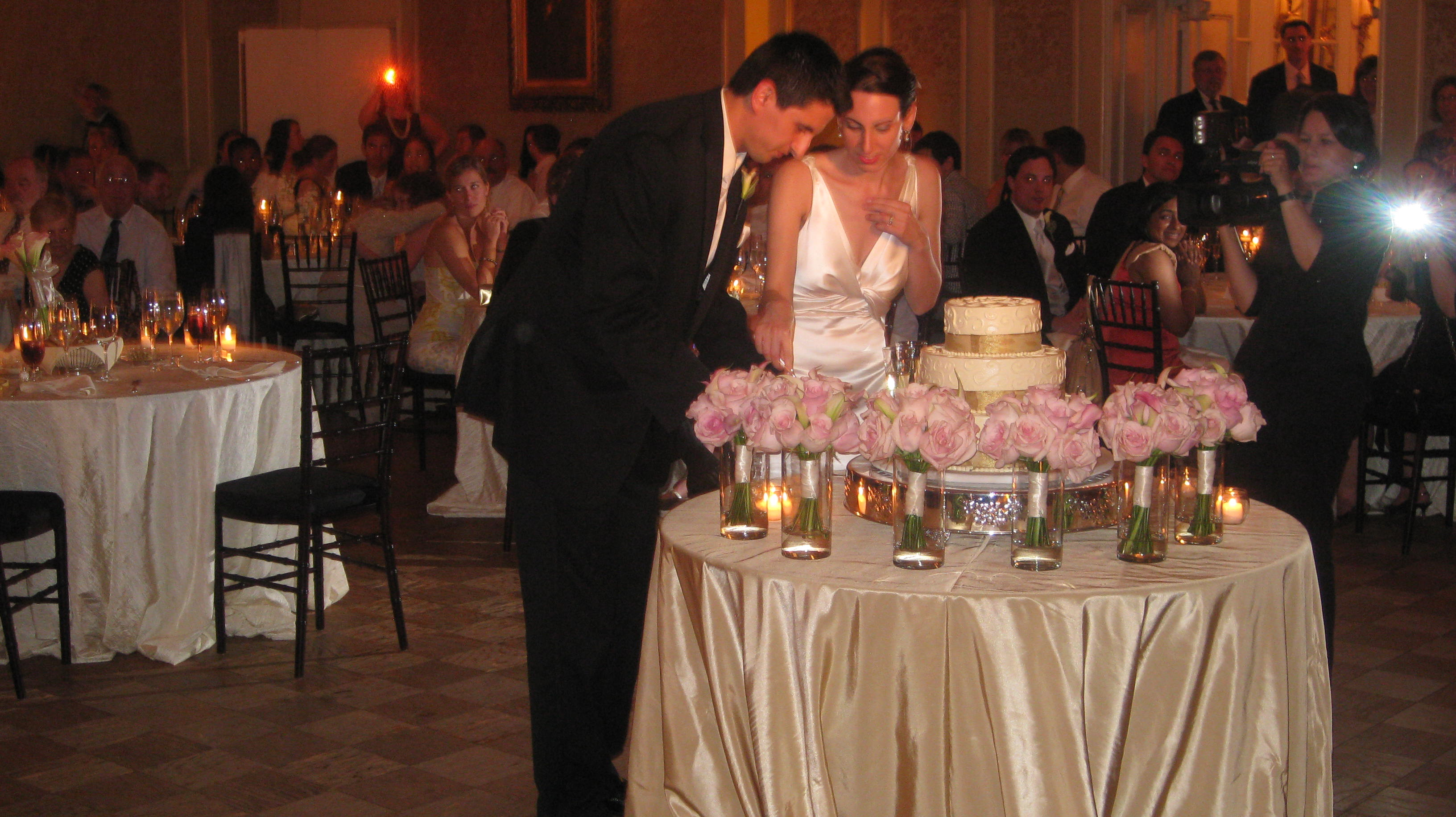 Katherine and Thomas at The Patterson Mansion - DJ D-Mac & Associates