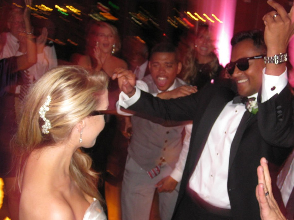 Nicole and Chris' Hindu-Christian wedding - Getting the party started - DJ D-Mac & Associates