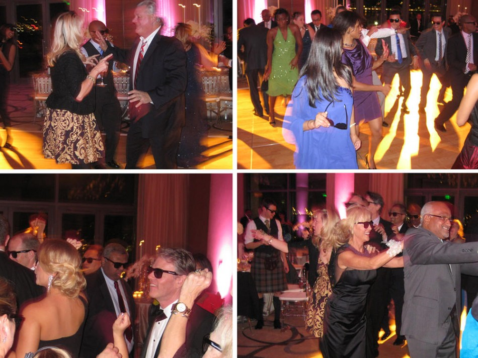 Nicole and Chris' Hindu-Christian wedding - A great dancefloor - DJ D-Mac & Associates