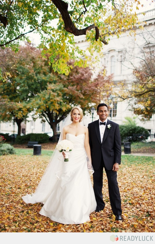 Nicole and Chris' Hindu-Christian wedding (photo by Lindsay Hite, Readyluck)