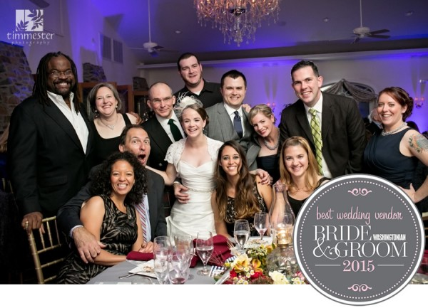 Washingtonian Bride & Groom Best Wedding Vendor