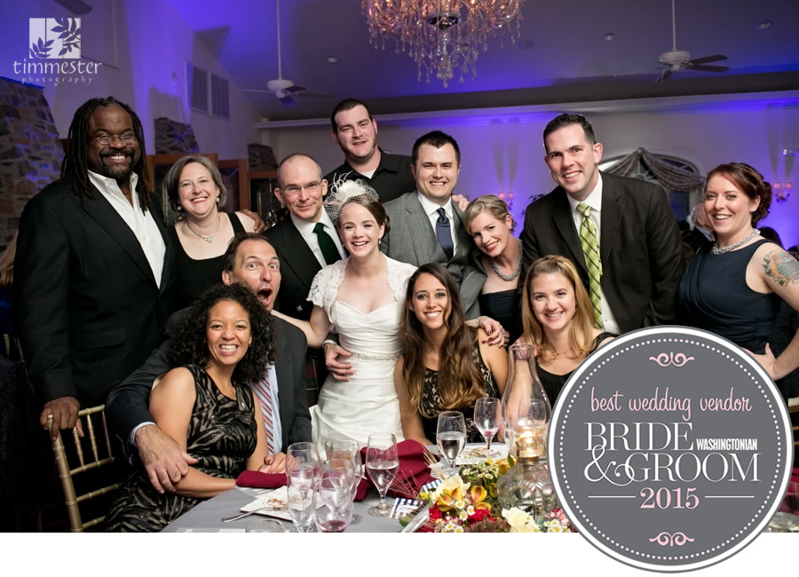 Washingtonian Bride & Groom Best Wedding Vendor