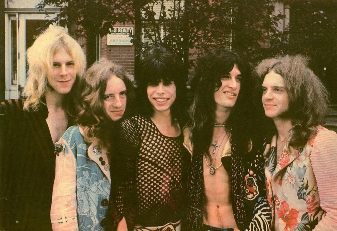 Aerosmith in 1972