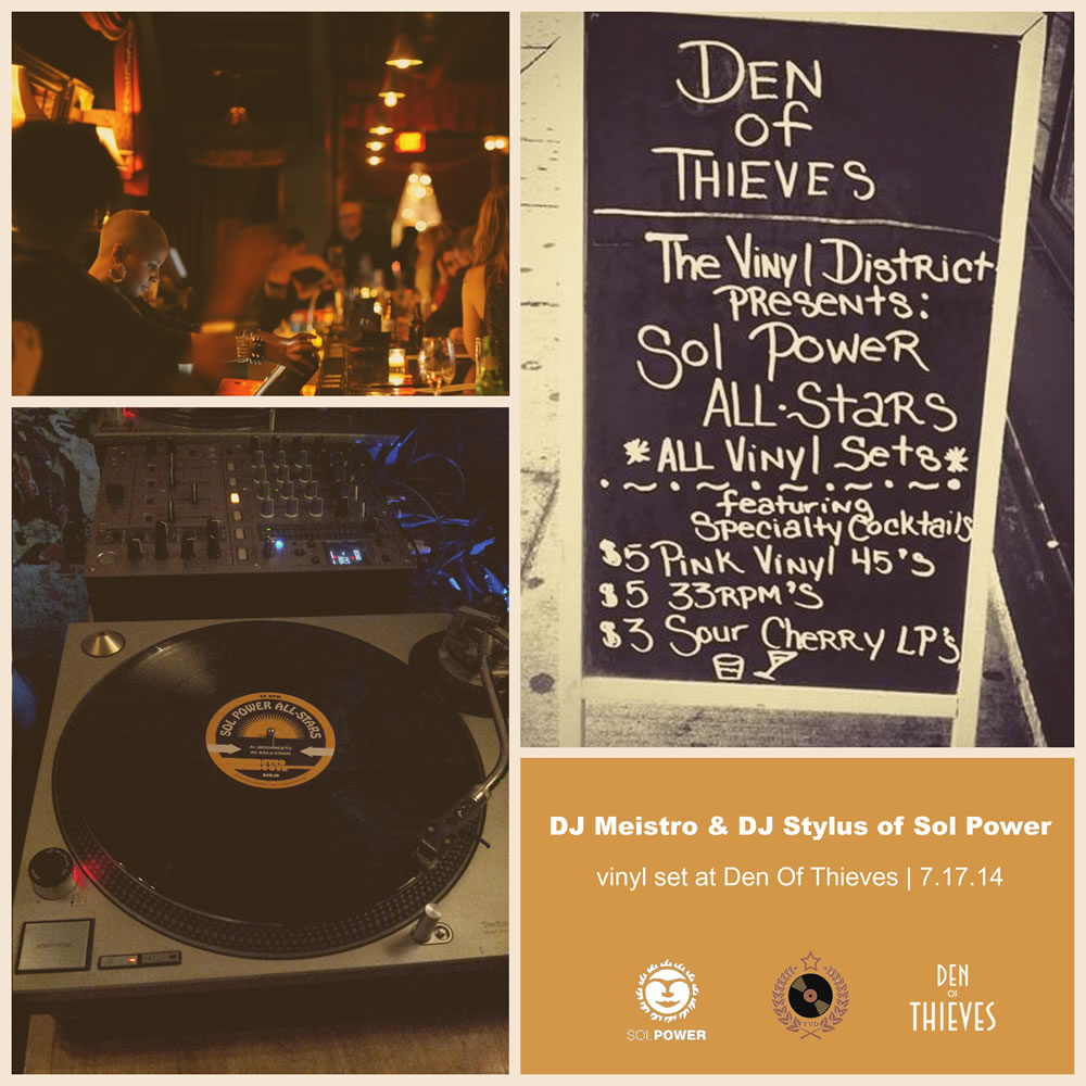 Sol Power at Den Of Thieves