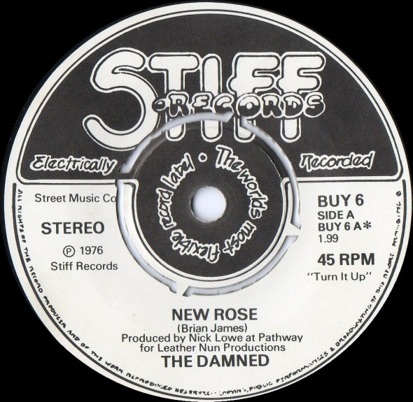 Damned - New Rose