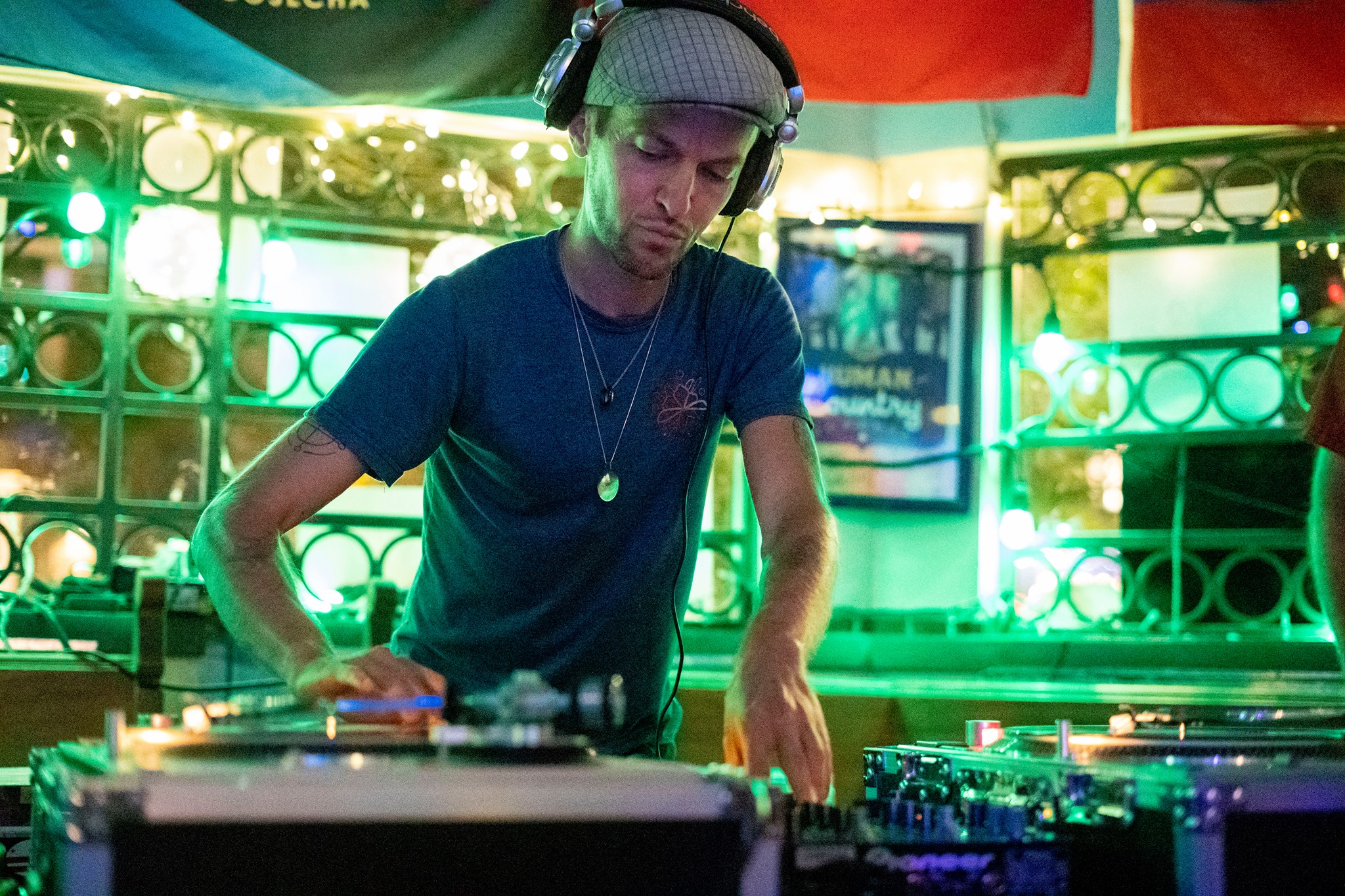 DJ Ty Hussell in Costa Rica