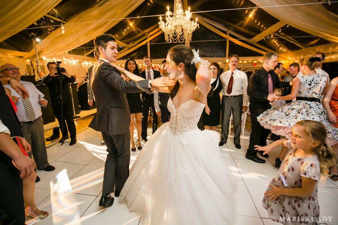 Melanie & Mark's Chesapeake Bay Wedding (Marissa Joy Photography)