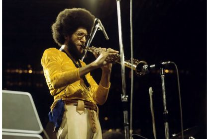Gary Bartz performs at the 1973 Montreux Jazz Festival. The saxophonist is often cited as a messenger of black empowerment in music.