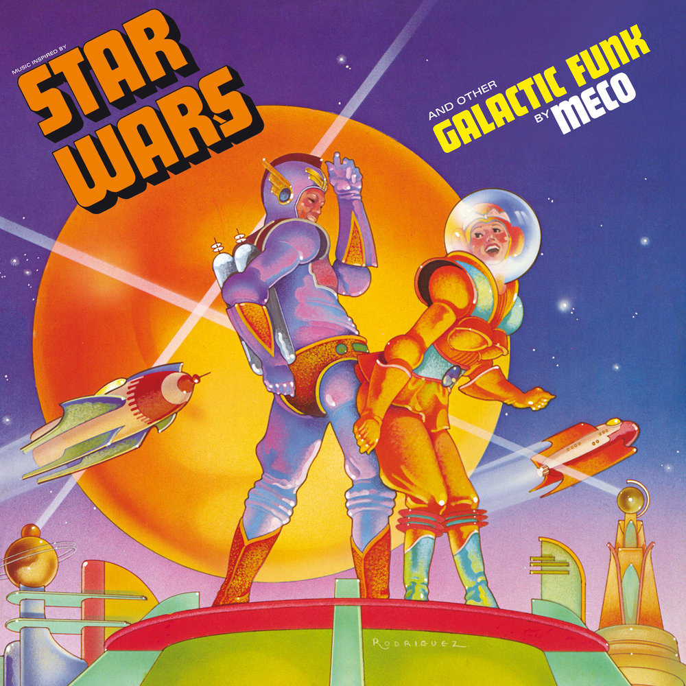 Meco Star Wars Theme/Cantina Band (12 Disco Mix)