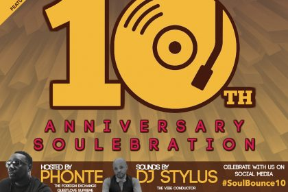 Soulbounce 10th Anniversary Party with DJ Stylus and Phonte