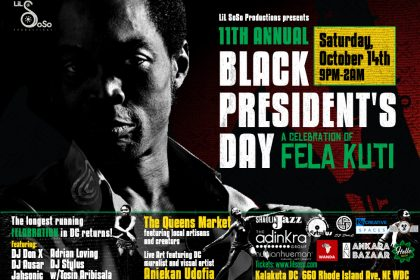 Black President's Day DC, Sat. 10/14
