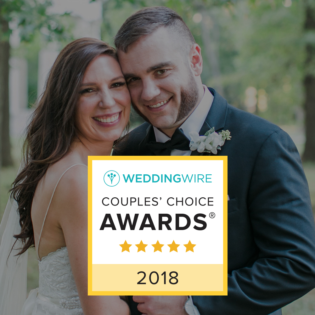 Wedding Wire Couples Choice Award Winner 2018