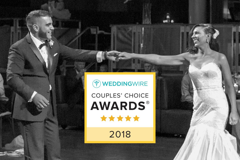 WeddingWire Couples Choice Award Winner 2018