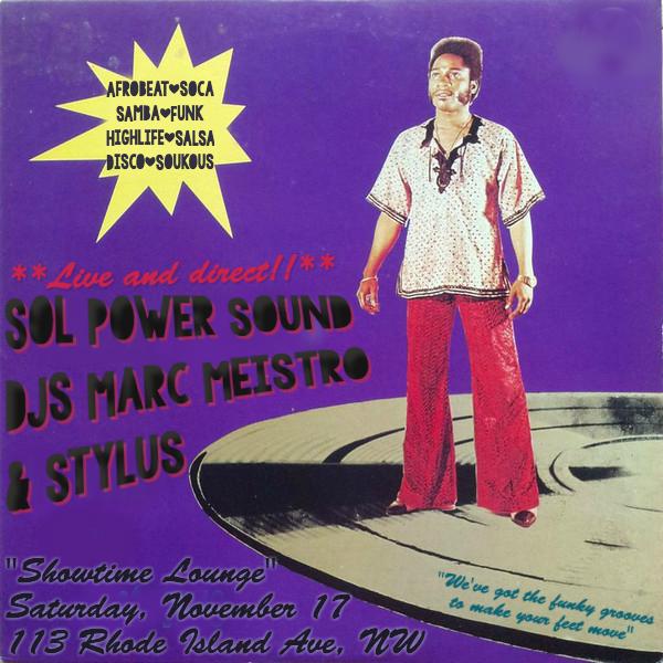 DJ Stylus & DJ Meistro: Sol Power at Showtime Lounge