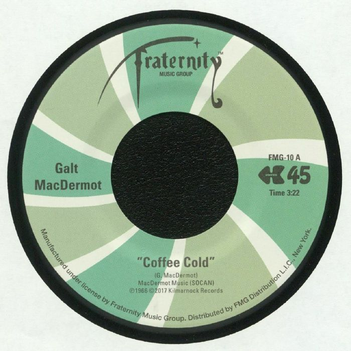 Galt McDermot Coffee Cold Fraternity