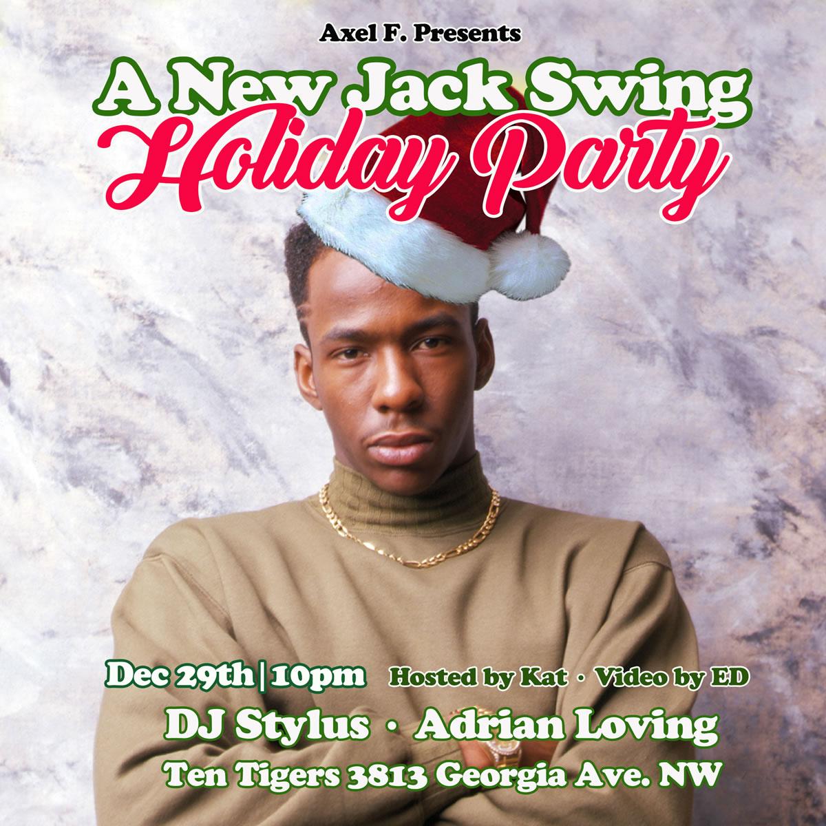 DJ Stylus: Axel F - New Jack Swing Holiday Party