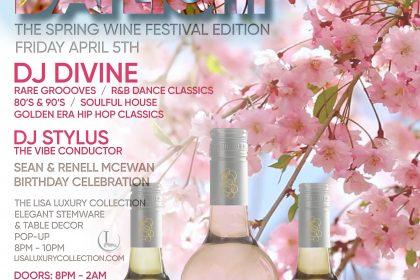 Daylight Spring Wine Flight Fest