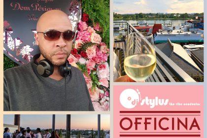 DJ Stylus at Officina DC's Terrazza