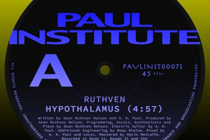 "Song of the Day: Ruthven ""Hypothalamus"""