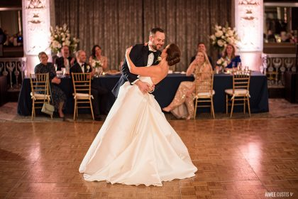 Erin and Brian's World Series Wedding at the Mayflower Hotel (Aimee Custis Photography)