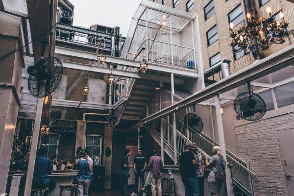 Eighteenth Street Lounge patio