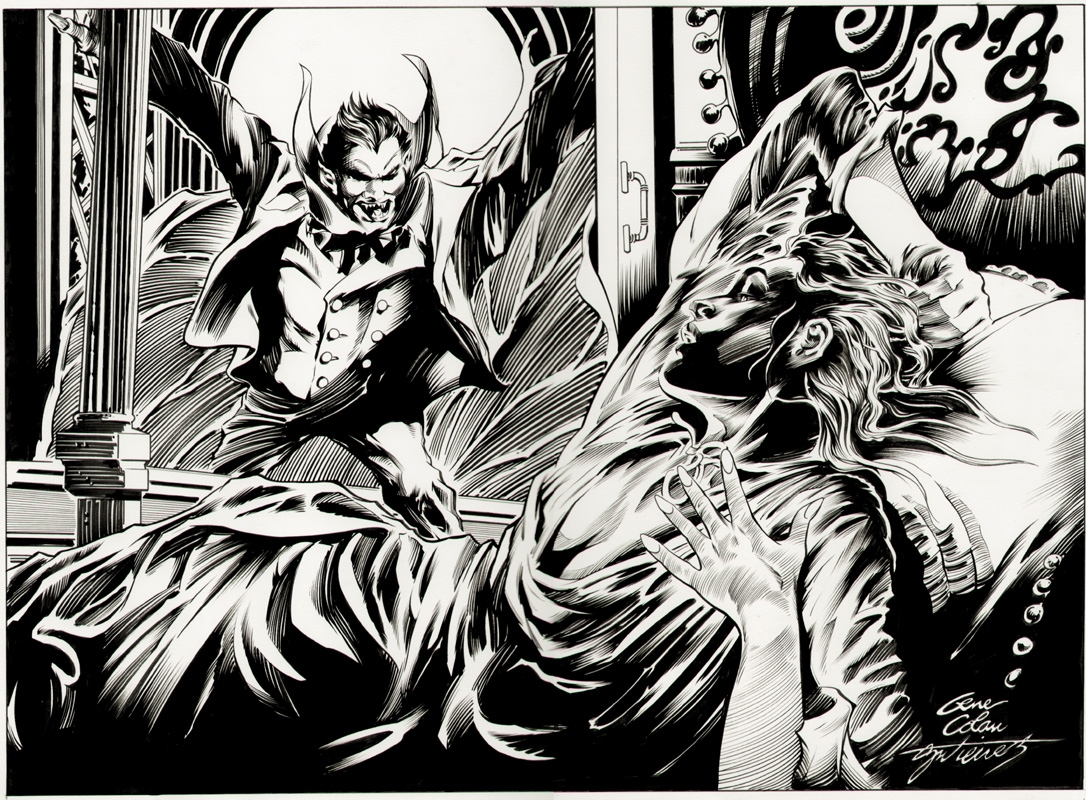 Dracula by Colan and Gutierrez